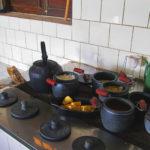 comida de fogão a lenha