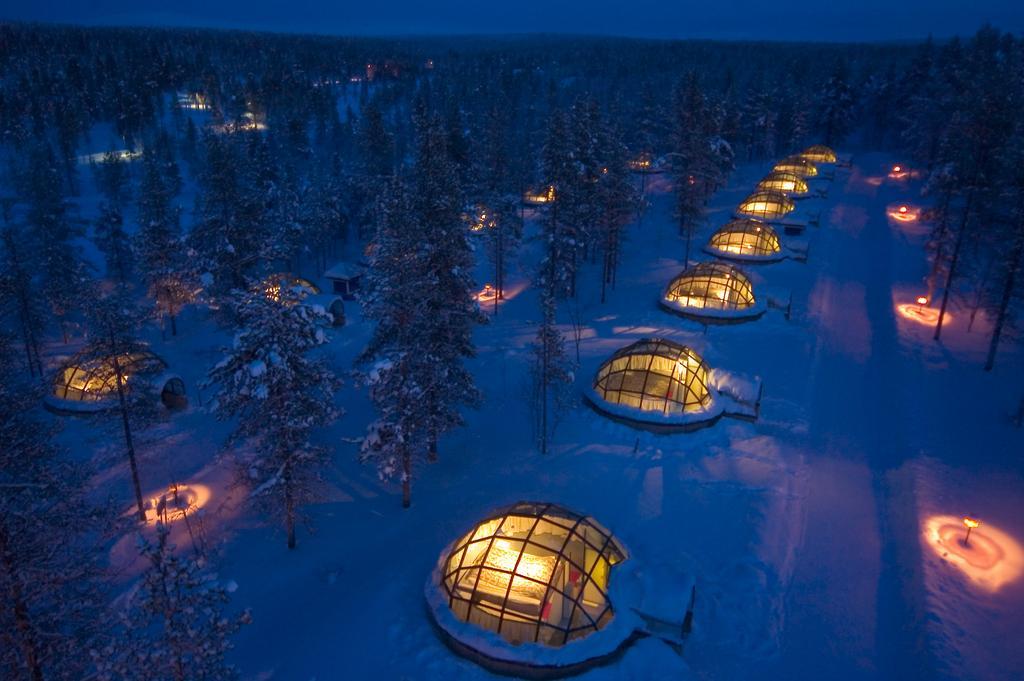 Hotéis Inusitados pelo Mundo: Hotel para ver Aurora Boreal – Finlândia