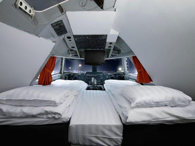 Hotéis Inusitados pelo Mundo: Hotel dentro de um avião – Estocolmo