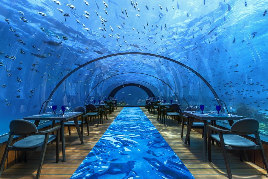 Hotéis Inusitados pelo Mundo: Hotel dentro do mar – Maldivas
