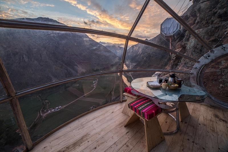 Hotéis Inusitados pelo Mundo: Skylodge Adventure Suites – Peru